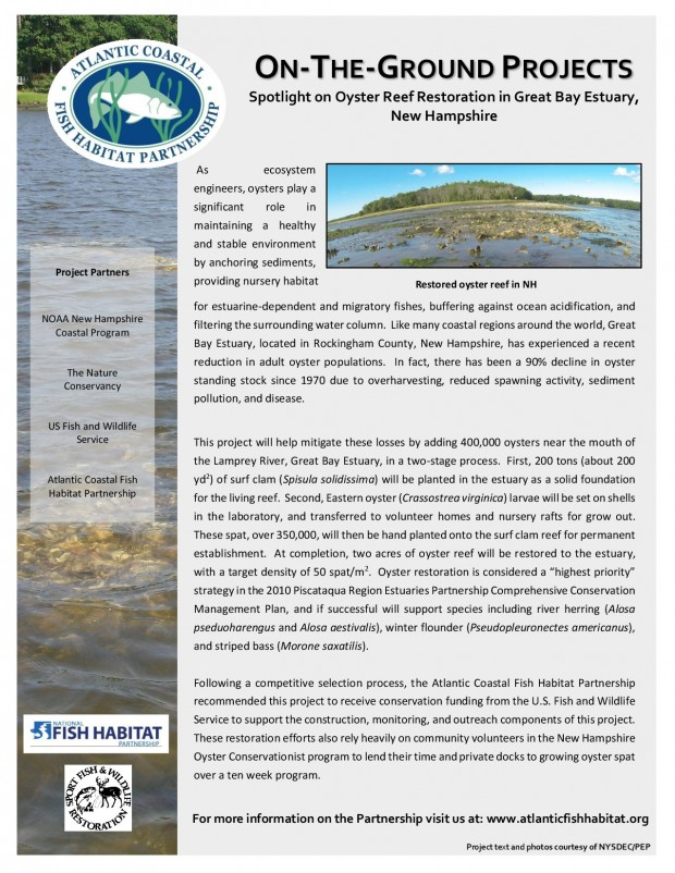 Project factsheet FY14 NH