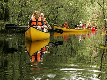 Connecting people with fish habitat: Steve Hillebrand, USFWS kayaking